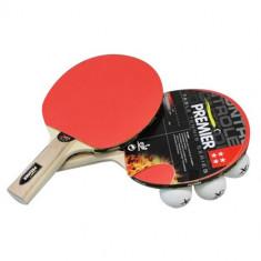 Set Tenis de Masă (2 Palete + 3 Mingi + Husă)