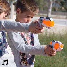 Pistol de jucarie - Pistol Spaţial cu Lumini şi Sunet