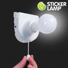 Bec cu Baterii Sticker Lamp - Bec / LED