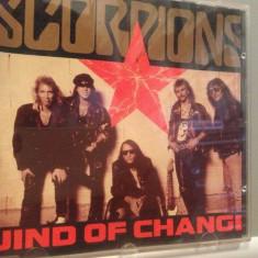 SCORPIONS - WIND OF CHANGE - MAXI SINGLE - (1990/POLYGRAM/GERMANY) - CD/ORIGINAL - Muzica Rock universal records