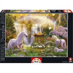 Puzzle Educa Valea Unicornilor 500 piese