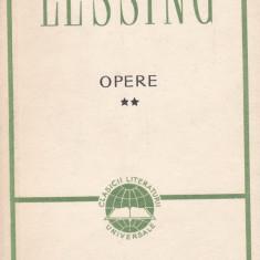 Gotthold Ephraim Lessing - Opere, vol. 2 - 588459 - Carte Cinematografie