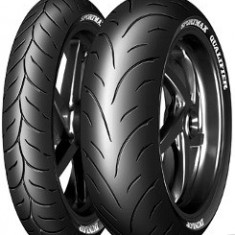 Motorcycle Tyres Dunlop Sportmax Qualifier ( 180/55 ZR17 TL (73W) Roata spate, M/C ) - Anvelope moto