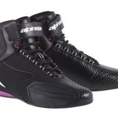 MXE Ghete moto fete Alpinestars Faster, negru-ro Cod Produs: 251041413955AU