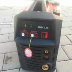 Invertor. Aparat de sudura MIG + MMA (REDBO 320 Ah)