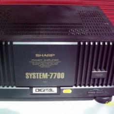 Amplificator audio - Bloc de putere Sharp System-7700 (final) 650W