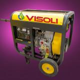 Generator de Sudura/Curent Diesel Visoli DGW6000E-3 Trifazat - Generator curent