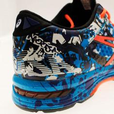 Adidasi barbati - Pantofi Alergare, Asics, Gel-Noosa TRI 11, Speed Island, Albastru-Portocaliu-Negru, Barbati-45 - OLN-OL10-T626N.4006|45