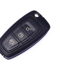Carcasa cheie 3 butoane, transformare Ford Mondeo, cod Crcs437 - CC382703