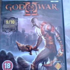 Vand Jocuri PS2 Thq, GOD OF WAR 2, ca nou, playstation 2, PAL, engleza, Strategie, 18+, Single player