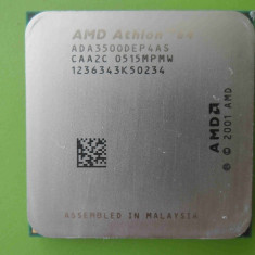 Procesor AMD Athlon 64 3500+ 2.2GHz 512K socket 939 - Procesor PC AMD, Numar nuclee: 1, 2.0GHz - 2.4GHz