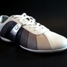 Pantofi Sport Geox marimea 40 - Tenisi barbati Geox, Piele naturala