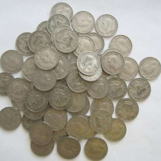Lot 16-62 monede vechi Anglia, Europa