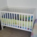 Patut si loc de joaca box - Patut pliant bebelusi, 120x60cm