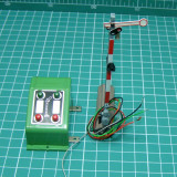 Semnalizator electric marca Fleischmann scara HO si element de actionare(5725) - Macheta Feroviara