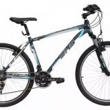 Bicicleta DHS TERRANA 2623, mountain bike, cadru aluminiu, model 2016