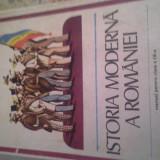 ISTORIA MODERNA A ROMANIEI DE HUREZEANUetc, 1980, 208 pag cartonata, manual cl 9 - Manual Clasa a IX-a, Istorie