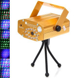 Mini Disco Laser Light cu leduri si telecomanda YX-032