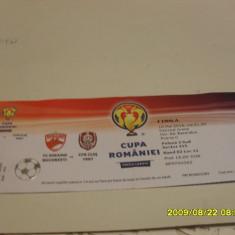 Bilet Dinamo - CFR Cluj finala Cupei rom. - Bilet meci