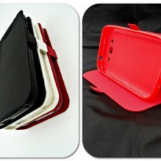 Husa Telefon - Toc FlipCover Stand Magnet Sony Xperia X ROSU