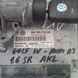 Audi a3 vw golf 4 1.6sr AKL 06A906019AK SIEMENS