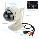 Camera IP exterior HD ( 1280*720 ) supraveghere, ZOOM 4X, PTZ, WIFI si cablu ! - Camera CCTV