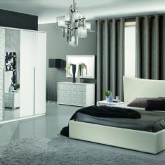 Dormitor Diamond, sifonier 6 usi, import Italia. - Set mobila dormitor