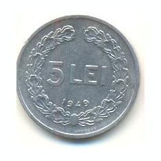 Romania 5 lei 1949-173 - Moneda Romania
