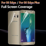 Folie de protectie full cover samsung galaxy s6 edge plus, Lucioasa
