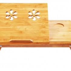Etable, masuta laptop de lemn - Masa Laptop