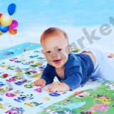 Covor de joaca pentru copii, interior si exterior, doua fete 120 x 180 x 0,5 cm