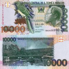 SAO TOME SI PRINCIPE 10.000 dobras 2013 UNC!!!