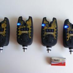 Set 4 Avertizori Senzori Digitali Baracuda TLI21 - Avertizor pescuit Baracuda, Electronice