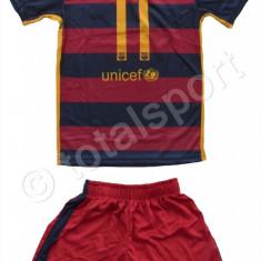 Echipament FOTBAL pt copii 4-14 ani FC Barcelona NEYMAR nr. 11 SUPER CALITATE - Set echipament fotbal Nike, Marime: YS, YXS