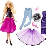 Papusa Barbie Mattel BRB Fashion Mix\'n Match Doll Blonda DJW57-DJW58