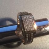 Inel diamant, 57 - 67 - Inel aur cu diamante