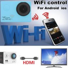 Camera sport WIFI 4K video FullHD 1080P, 12MPX, Card Memorie, CMOS, Sub 2 inch