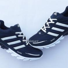 Adidasi barbati, Textil - Adidasi Adidas SpringBlade TechFit Panza Indigo/Alb Model Nou 2016