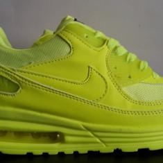 Adidasi barbati, Piele sintetica - Adidasi Nike Air Max Verde neon!