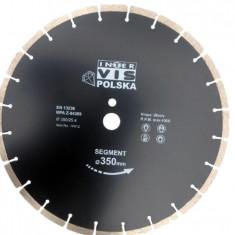 Disc diamantat segmentat 350 mm INTERVIS