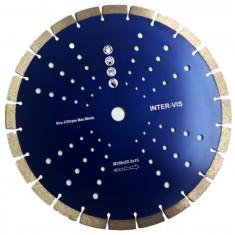 Disc diamantat segmentat 350 mm INTERVIS BLUE