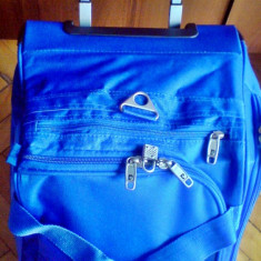 Geanta troler valiza pe roti Pierre Cardin 16inch/46X30X30cm -original- IN STOC - Troller