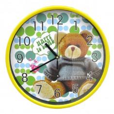 Ceas cu ursuleti copii, de perete - Ceas de perete