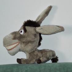Jucarii plus - Jucarie plus din Shrek Donkey, magar, magarus 20cm, film animatie, Big Headz