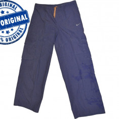 Pantaloni dama Nike, Lungi, Bumbac - Pantalon dama Nike Active - pantaloni originali