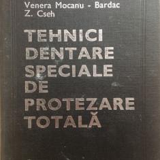 TEHNICI DENTARE SPECIALE DE PROTEZARE TOTALA - L. Ieremia, V. Mocanu Bardac