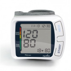 NUVITA Tensiometru digital tip bratara NUVITA 3250 WRIST BLOOD PRESS I087HM018018, alb