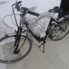 Bicicleta electrica Pegasus - Bicicleta electrice, 21 inch, 27.5 inch, Numar viteze: 3, Aluminiu, Negru