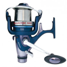 Mulineta Baracuda Blue Star 9000 Pentru Pesti Mari 6 Rulmenti, Lansat, stationar