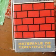 MATERIALE DE CONSTRUCTII -AL.STEOPOE - Carti Constructii